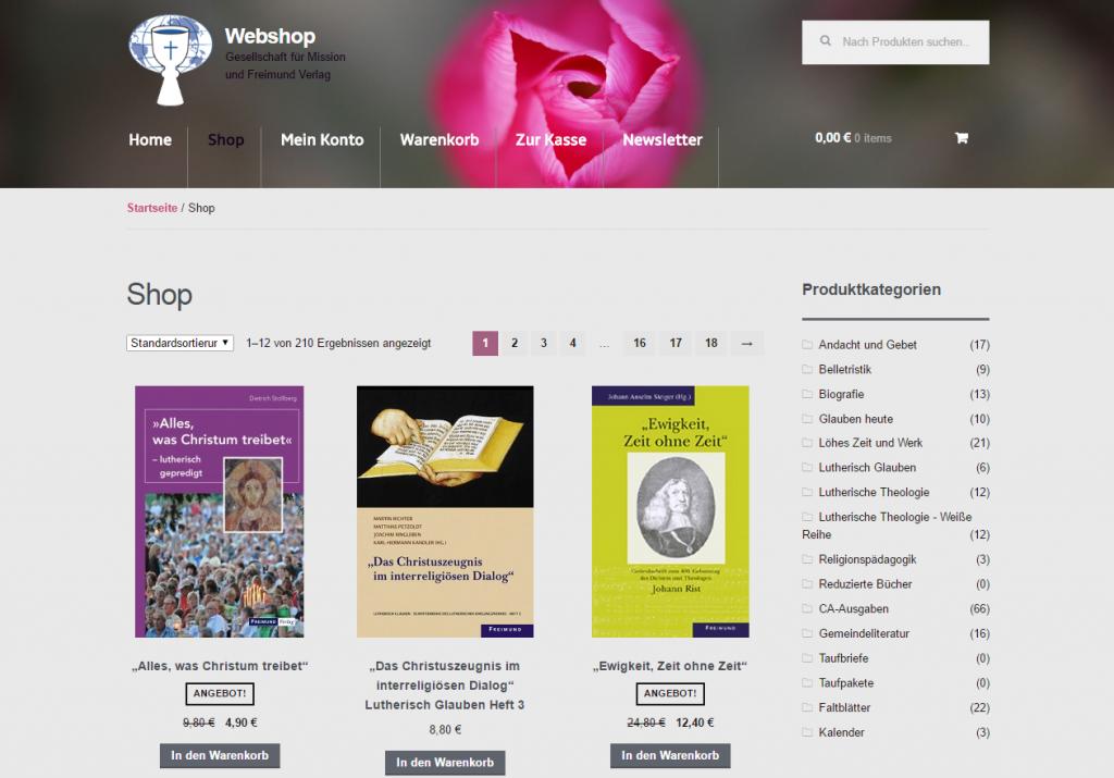 Link zum Webshop der Gesellschaft für Mission und Freimund Verlag